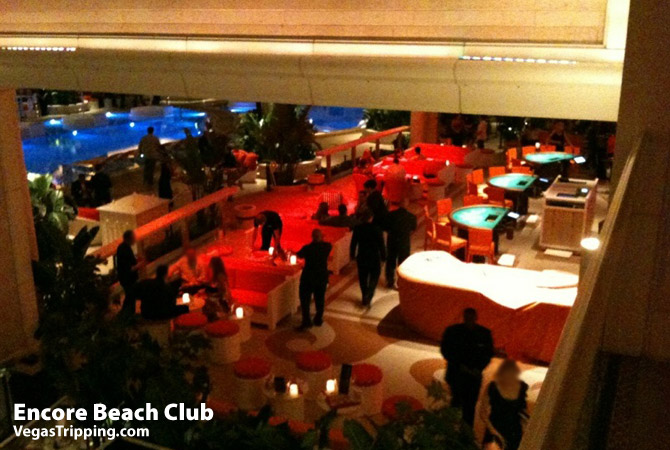 Encore Beach Club Blackjack