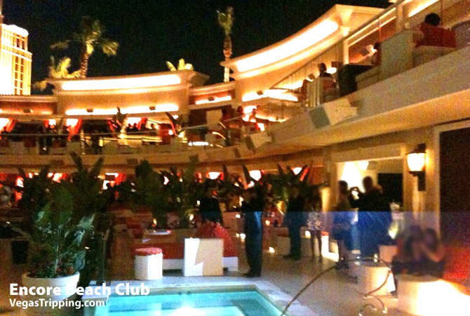 Encore Beach Club Pool