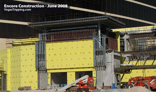Encore Suites at Wynn Las Vegas Construction June 2008 -  Casinoentry