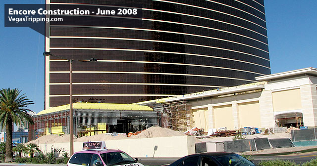 Encore Suites at Wynn Las Vegas Construction June 2008 -  Stripporte