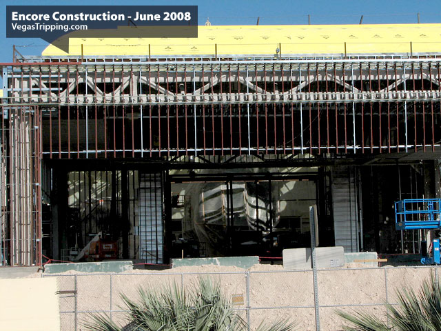 Encore Suites at Wynn Las Vegas Construction June 2008 -  Stripporteext