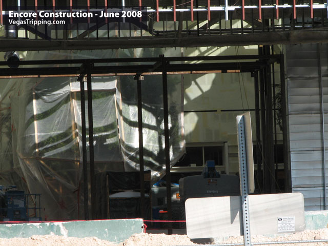 Encore Suites at Wynn Las Vegas Construction June 2008 -  Stripporteint