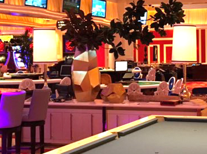 Encore Players Club Couches Pool Table