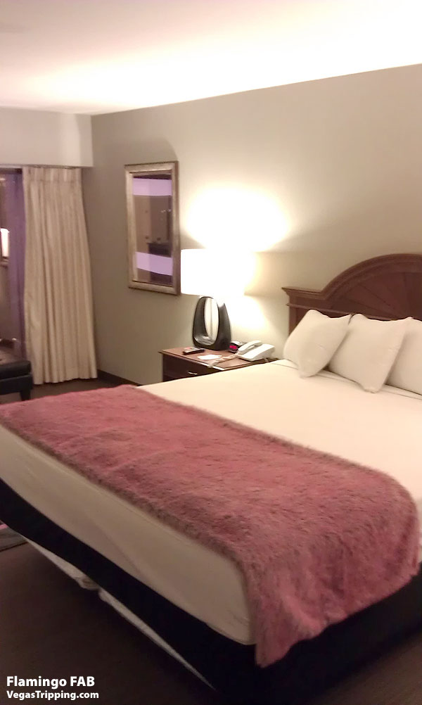 Flamingo Las Vegas FAB Rooms ReviewBed