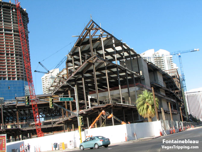 Fontainebleau Nightclub Girders