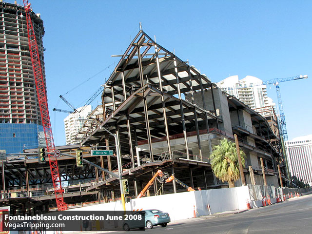 Fontainebleau Hotel Construction