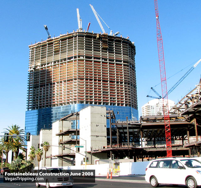 Fontainebleau Hotel Tower Construction
