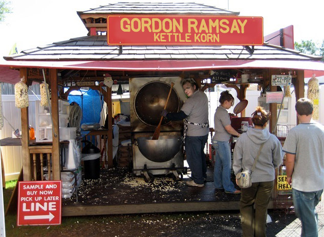 Gordon Ramsay Kettel Corn