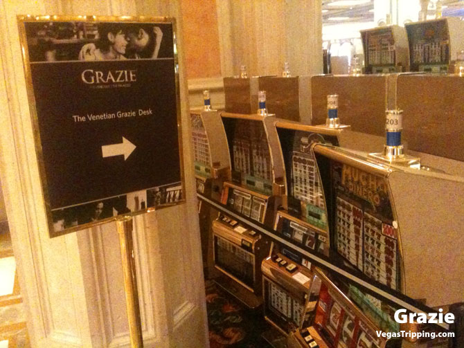 Grazie Venetian Slot Machines