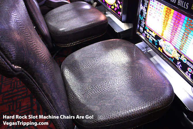 Hard Rock Slot Chairs