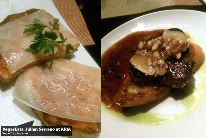 Julian Serrano Tapas at ARIA Las Vegas Restaurant Review Steak
