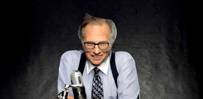 Larry King at Encore