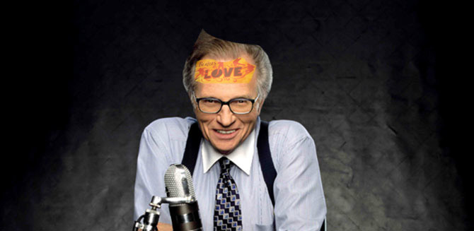 Larry King Mirage