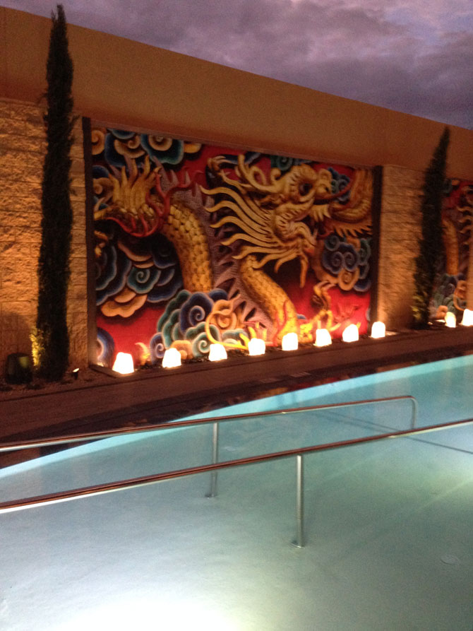 Lucky Dragon 24 Pool Art