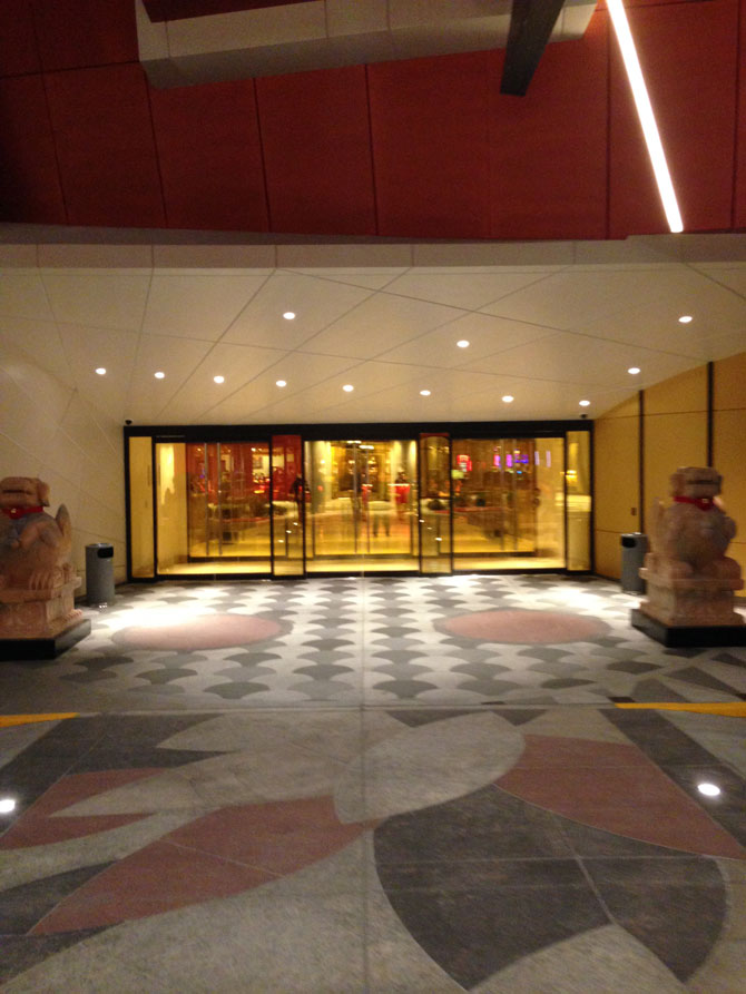 Lucky Dragon 28 Valet Entrance