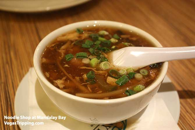 Mandalay Bay Noodle Shop Review
