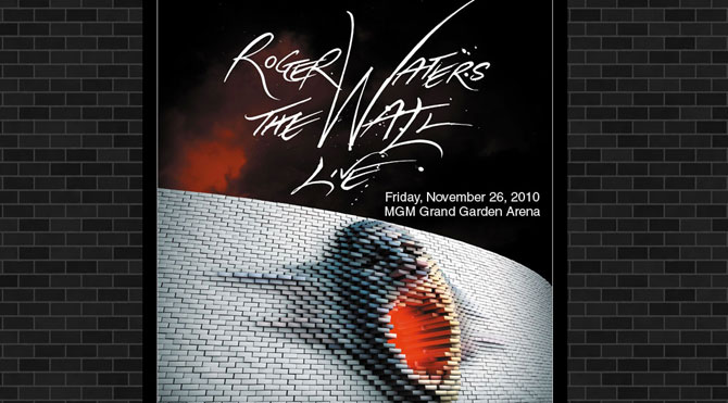 Roger Waters Wall MGM Grand