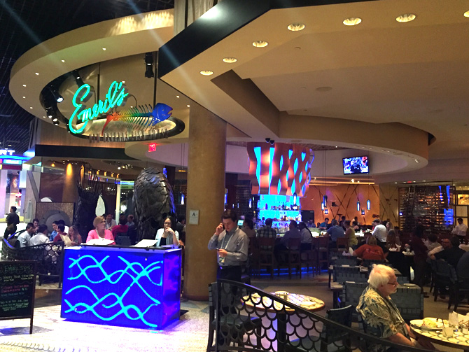 Vegas eats emeril 39 s new orleans fish house at mgm grand for New orleans fish house