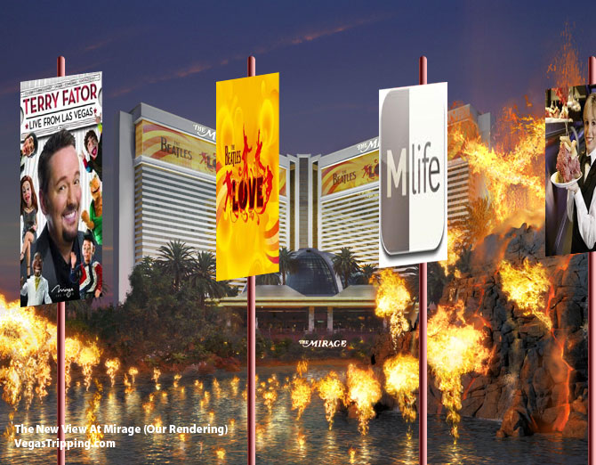 Mirage Advertisement Banners