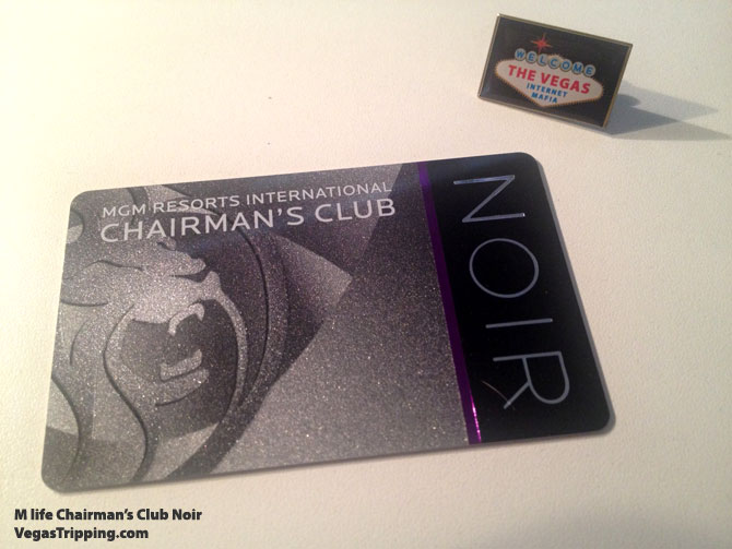 M life Noir Chairman's Club