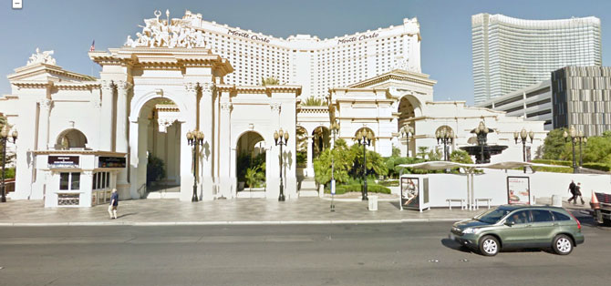 Monte Carlo Strip Frontage Renovation