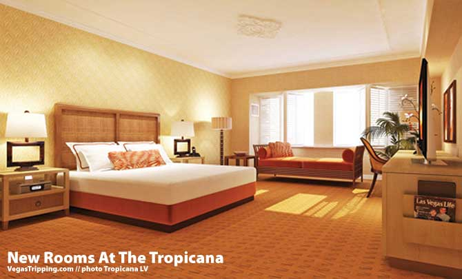 New rooms at tropicana for New room ideas