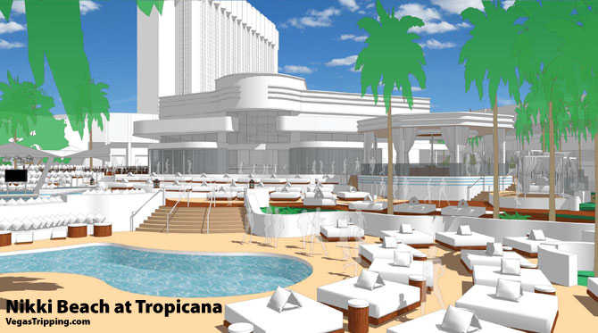 Nikki Beach Rendering