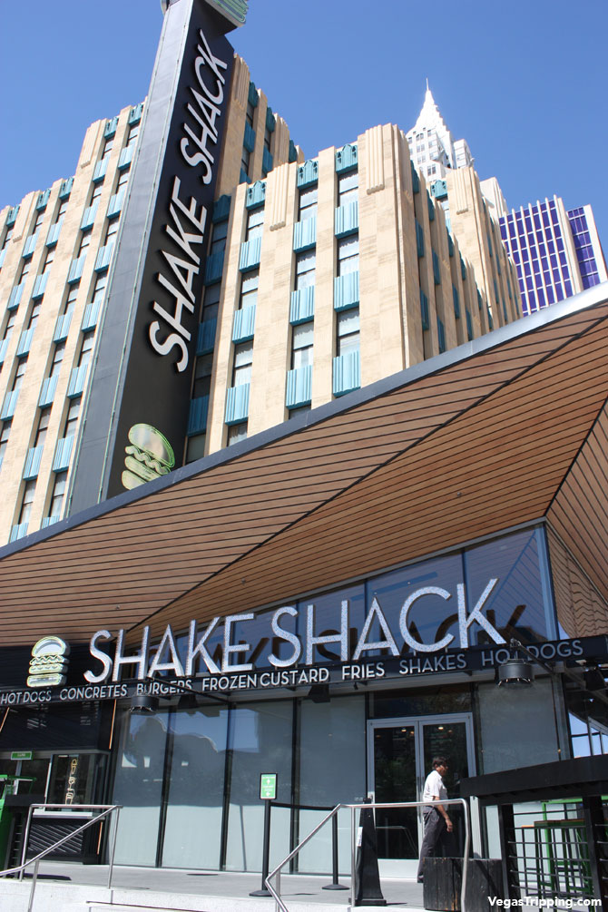 New York New York Shake Shack Las Vegas Review Review