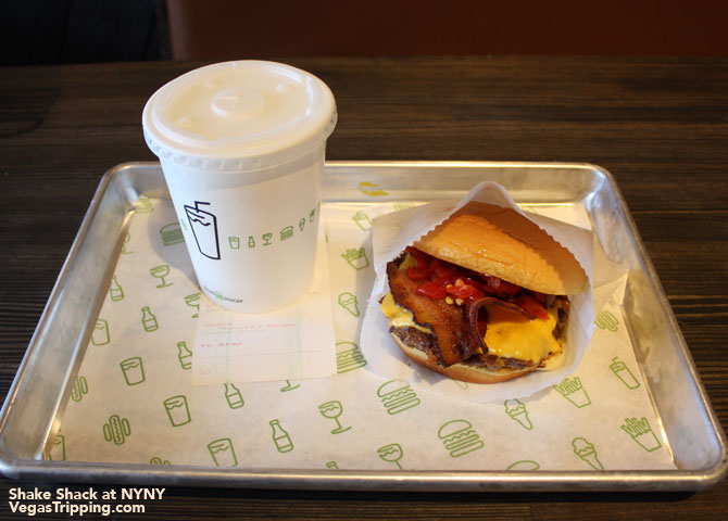 New York New York Shake Shack Las Vegas Review