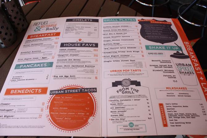 New York New York Tom's Urban Las Vegas Review Menu