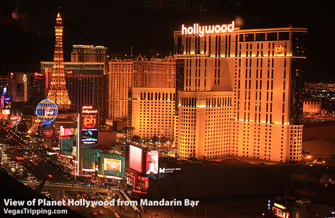 Planet Hollywood View from Mandarin Bar