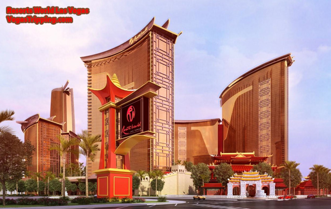 Resorts World Las Vegas Street North Day