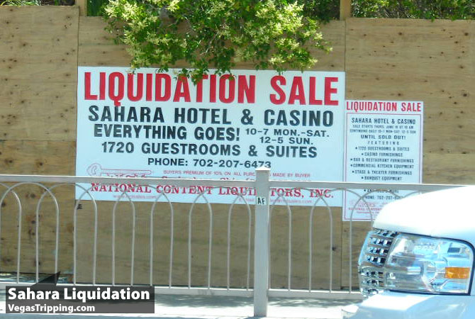 Sahara Sale Sign