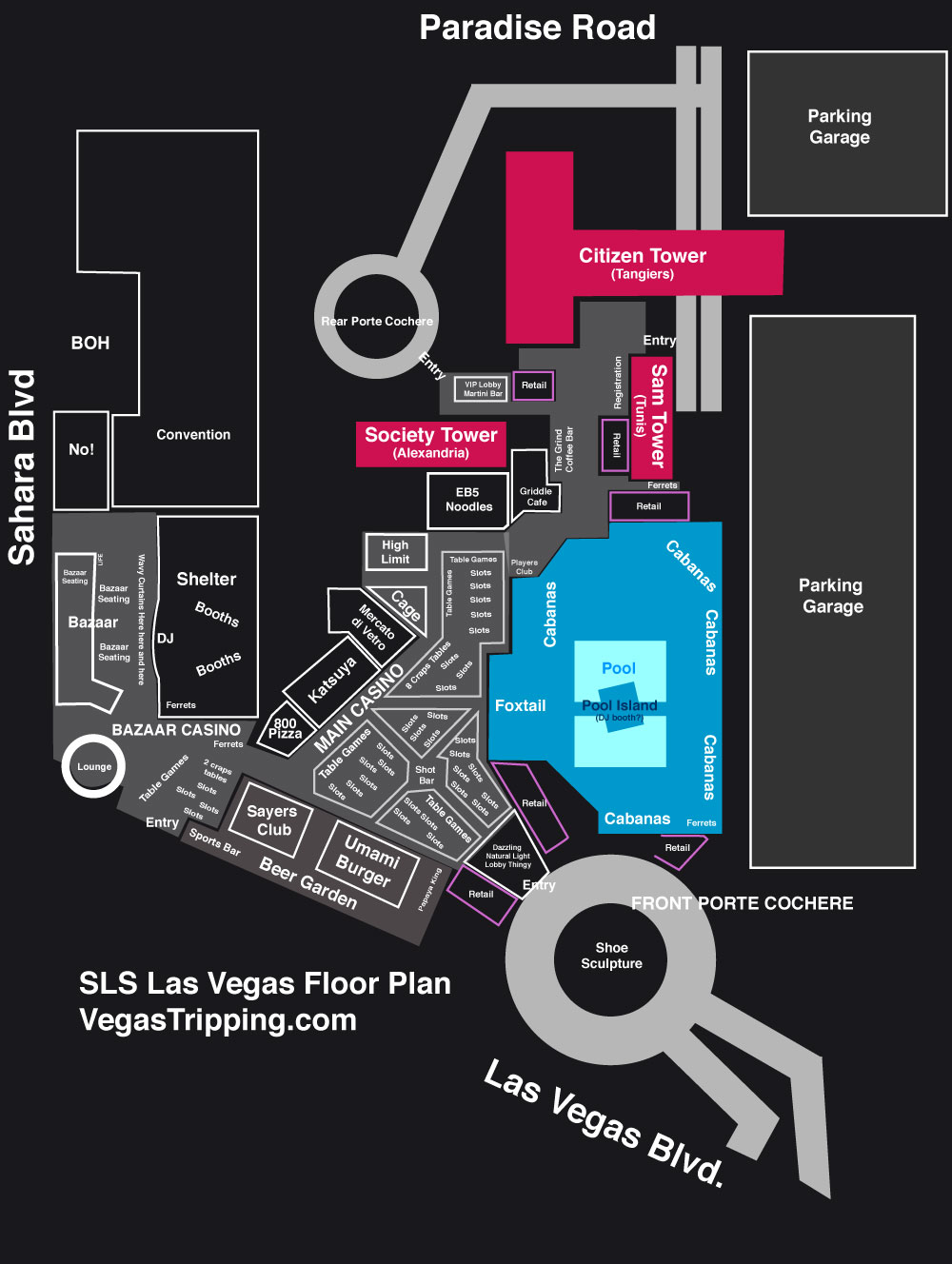 Everything You Ever Wanted To Know About SLS Las Vegas
