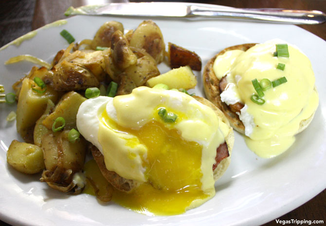 SLS Las Vegas Northside Cafe Review Benedict