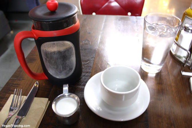 SLS Las Vegas Northside Cafe Review Coffee