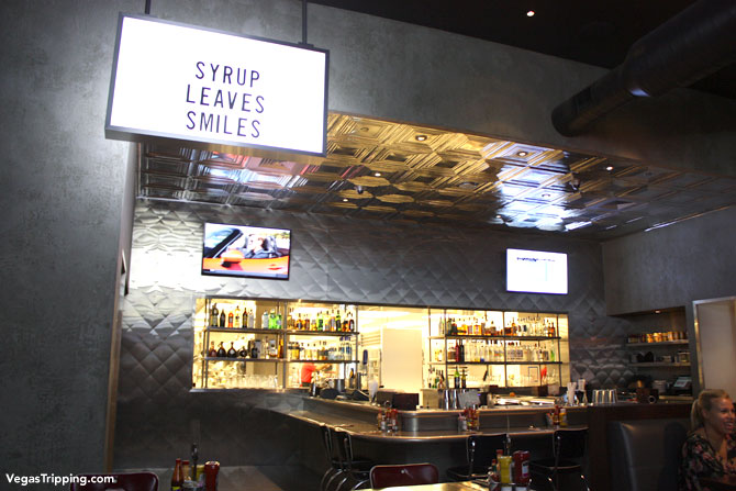 SLS Las Vegas Northside Cafe Review Syrup
