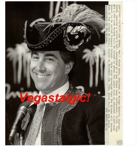 Steve Wynn In a Pirate Hat