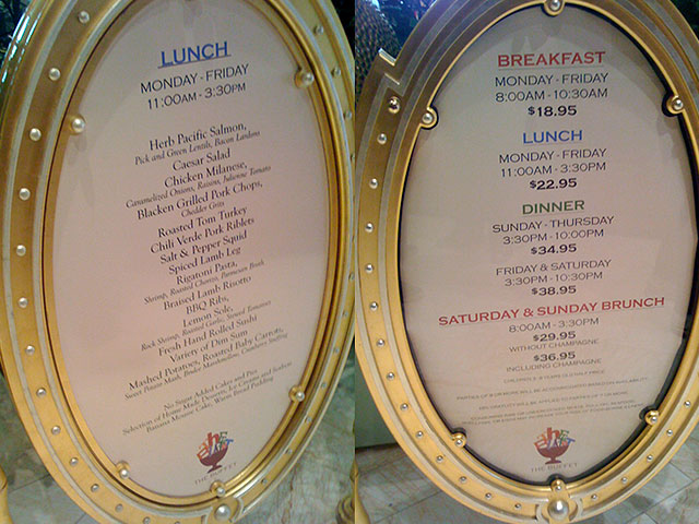 the menu the prices the buffet at wynn vegastripping com rh vegastripping com wynn las vegas buffet price 2018 breakfast buffet wynn las vegas price