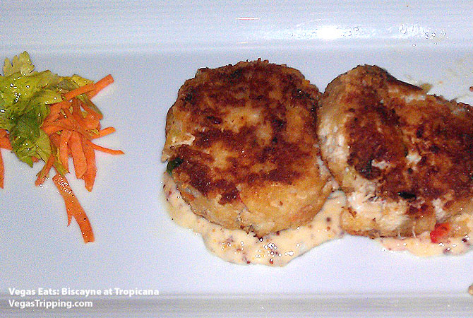 Biscayne Tropicana Sushi Crab Cakes