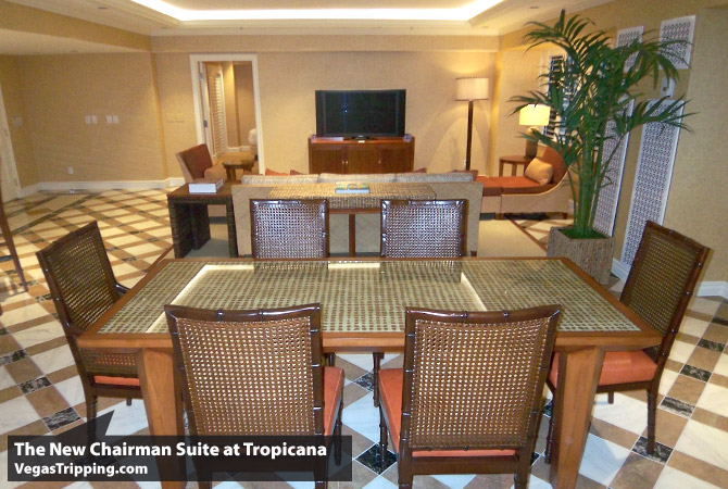 Tropicana Chairman Suite