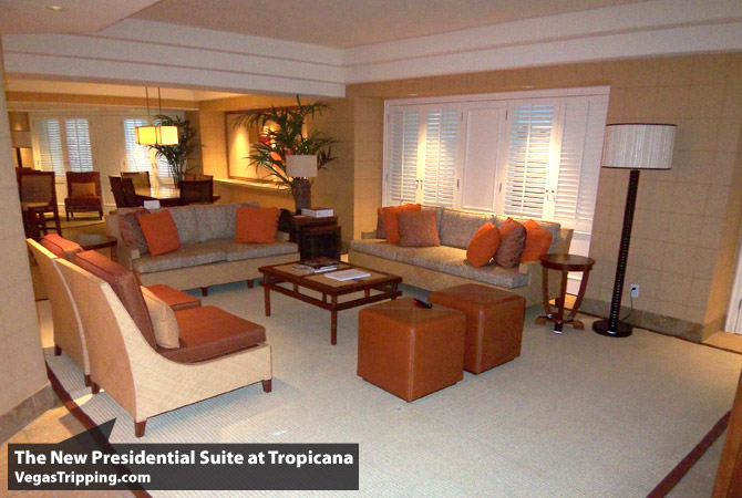 the new suites at tropicana part three the presidential suite