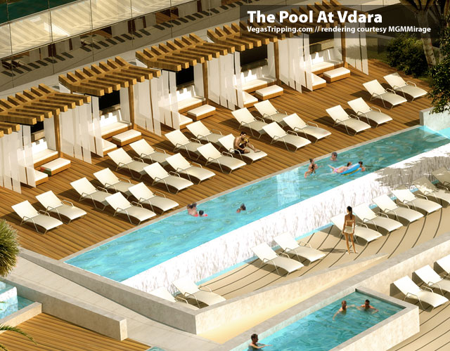 Vdara City Center Pools