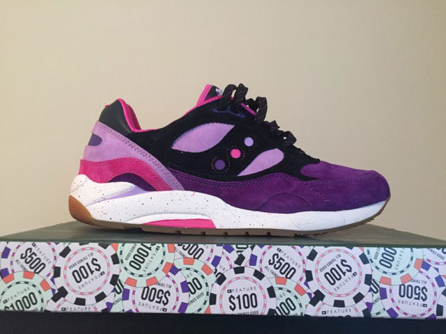 Feature Saucony G9 Shadow 6