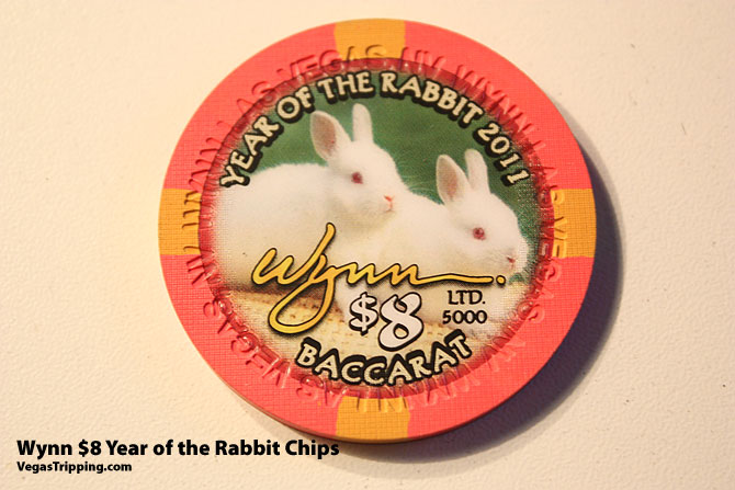 Wynn $8 Rabbit Chips