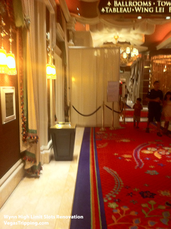 Wynn High Limit Slot Renovation