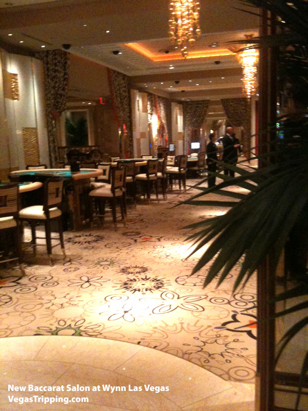 Wynn New Baccarat Salon Roger Thomas