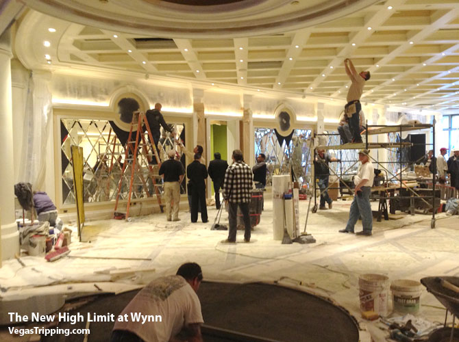 Wynn High Limit Casino Room