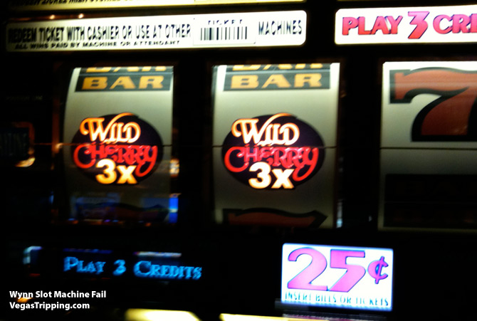 vegas slot fee
