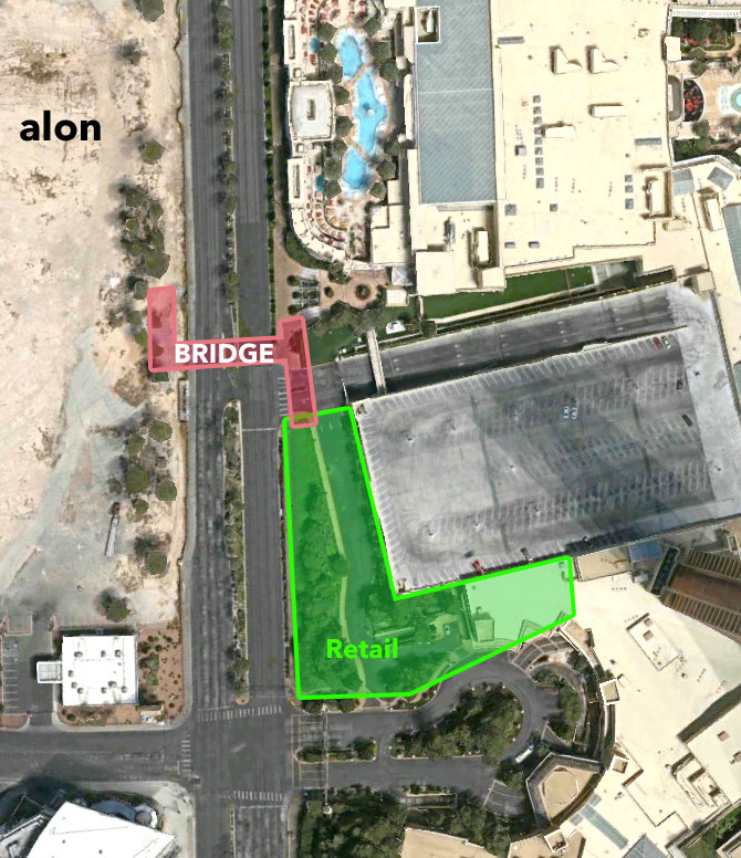 Wynn Strip Esplanade Alon Construction